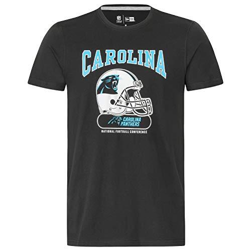 New Era Herren T-Shirt NFL Archie Tee Carolina Panthers - Black XXL