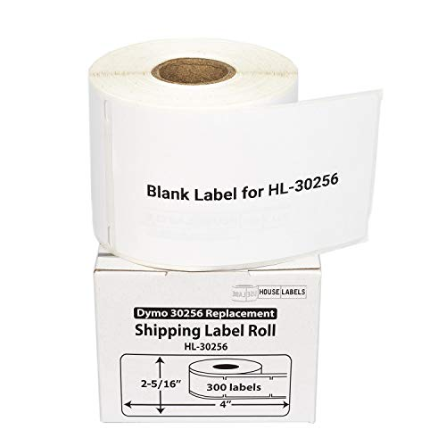 """HOUSELABELS Compatible DYMO 30256 Shipping Labels (2-5/16"""" x 4"""") Compatible with Rollo, DYMO LW Printers, 100 Rolls / 300 Labels per Roll Photo #8"""