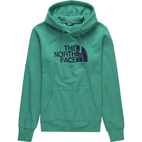 The North Face Men's Half Dome Pullover Hoodie - Porcelain Green & Urban Navy - XXL