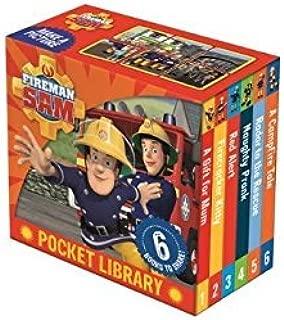 Fireman Sam Little Library 6 Books for Little Hands