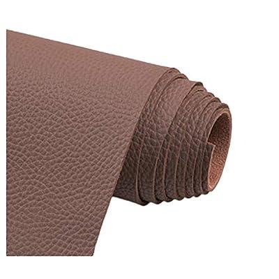 【Material de calidad】 Hecho con tela de cuero sintético PU, Parte posterior Con respaldo de algodón elástico de alta calidad, el cuero tiene un tirón fuerte, buena transpirabilidad y se siente natural y suave, el frente es cuero PU impermeable, buena...