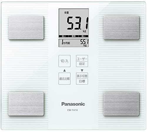 パナソニック 体重・体組成計 ホワイト EW-FA14-W