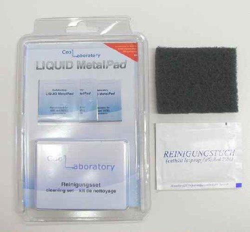 Coollaboratory Liquid MetalPad 3X CPU inkl. Reinigungsset