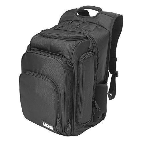 UDG Ultimate DIGI Backpack Black/Orange Inside - Zaino per Laptop, Nero con interno in Arancione