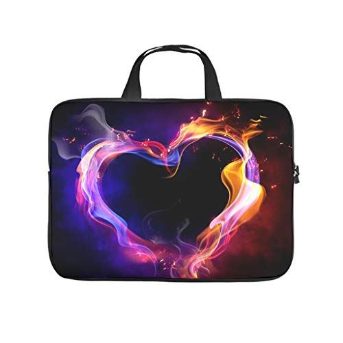 Happy Valentine's Day Laptop Bag Waterproof Laptop Protective Bag Pattern Notebook Bag for University Work Business