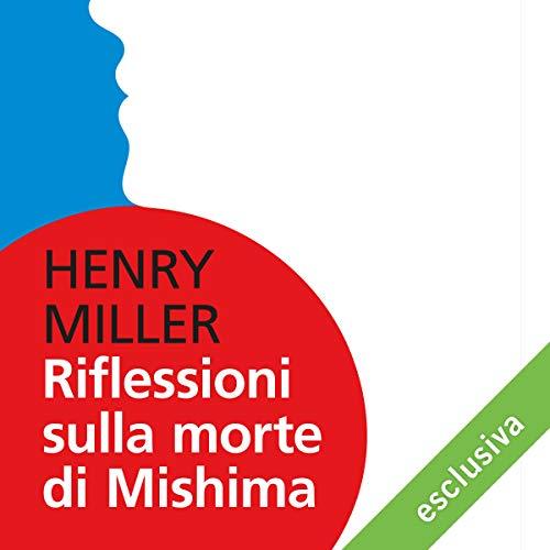 Riflessioni sulla morte di Mishima copertina
