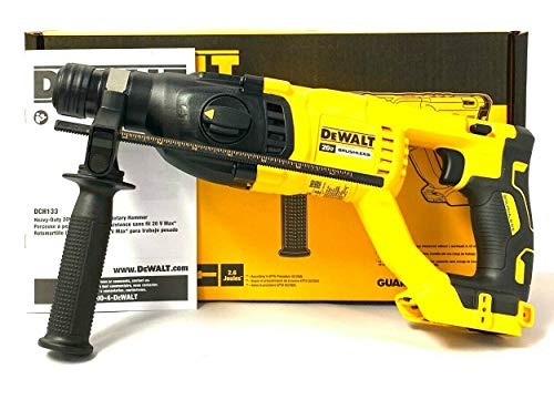 De-Walt DCH133B 20 Volt Max XR Brushless 1-Inch SDS Plus D-Handle Rotary Hammer (Tool ONLY)