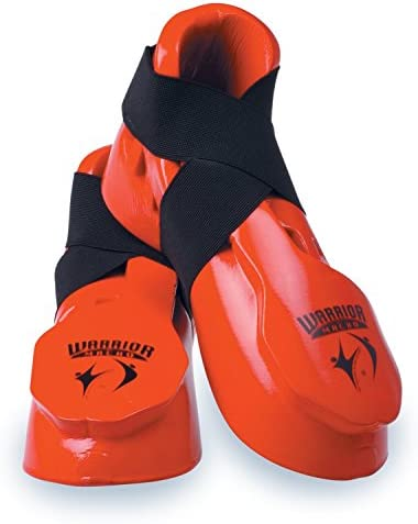 White Large Macho Dyna Kicks Sparring Shoes Footgear