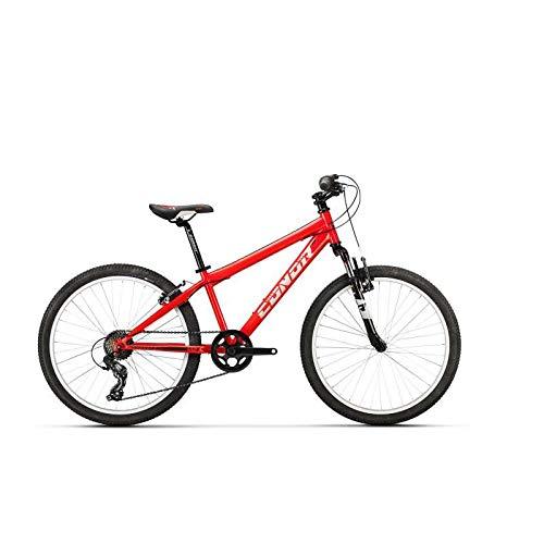"""Conor 440 24"""" Bicicleta, Juventud Unisex, Rojo (Rojo), Talla Única"""