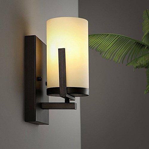 JJZHG wandlamp wandlamp wandlamp woonkamer slaapkamer nachtlampje kamer hotel kaars led omvat: wandlampen, wandlamp met leeslamp, wandlamp met stekker, wandlamp schaduw