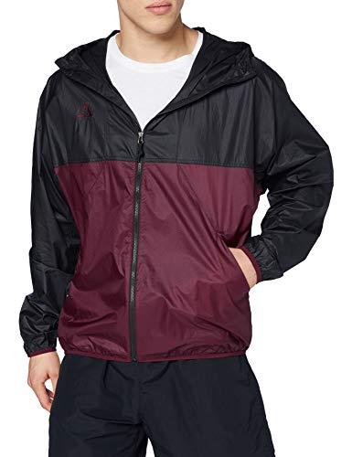 NIKE M Nrg Acg Lightweight Jkt - Chaqueta deportiva para hombre, Hombre, Chaqueta deportiva., CK7238, Black/Dark Beetroot, L