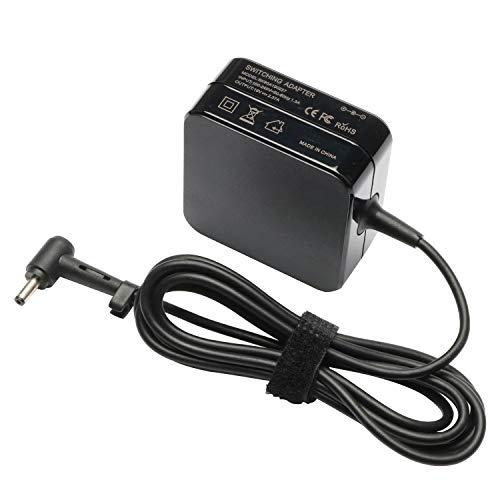 45W Laptop Adapter Charger for Asus UX360C X553M Q302L Q504UA Q304U S200E X201E X202E X541NA X542UA X540S X540SA X541N Q200E C202SA C300SA E402WA 19V 2.37A AC Power Supply Cord
