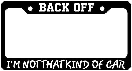 Black License Plate Frame IT/'S A BAND THING YOU WOULDN/'T UNDERSTAND Auto
