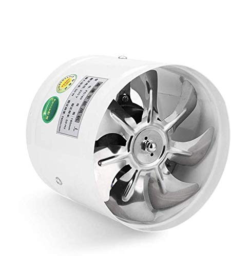 SAIYI Durevole ABS Cappa Silenzioso Cucina Bagno di Ventilazione del soffitto della Parete Potente Ventilatore di Scarico di Rame Filo Motore 80W, Il Volume d'Aria: 1300m³ / h 200mm * 200mm