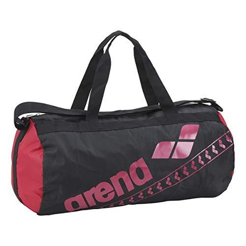 arena(アリーナ) 水泳 スイミングバッグ ポケッタブルデリバリーバッグ AEAPJA06 BLK(ブラック×ピンク×ピンク) F