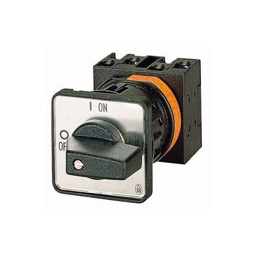 Eaton 027012 Ein-aus-Schalter, 3-polig, 20 A, 90 Grad, Zentraleinbau