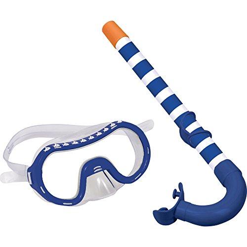 Die Spiegelburg Juego de esnorquel para niños Gafas de Buceo con esnorquel Máscara de Buceo Capt'N Sharky