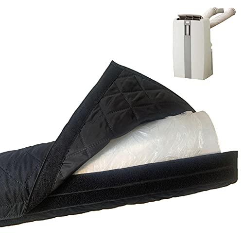 AC Manicotto portatile per condizionatore d'aria tubo di copertura del tubo di protezione antipolvere per tubi di scarico di diametro 15 pollici e 15 pollici (lunghezza 59 pollici)