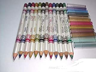 12 Colors New design perfect eye and lip liner pencil pack of 12