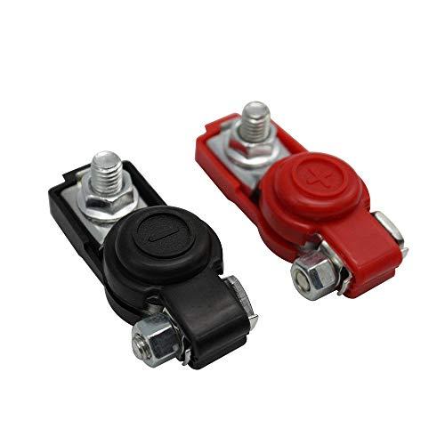 KKmoon 1 Pair Car Battery Terminal Clamp Clip Connector, Battery Terminals...