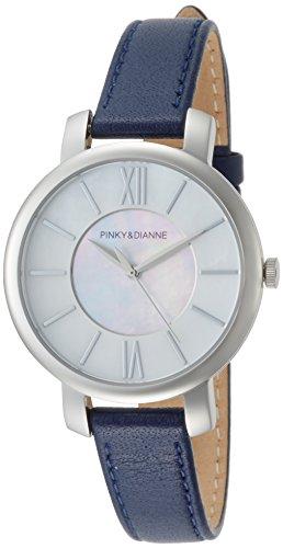 [ピンキー&ダイアン] 腕時計 PD103SWHNV レディース ブルー