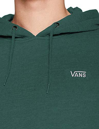 Vans Basic Pullover Fleece Felpa con Cappuccio, Ago di Pino, M Uomo