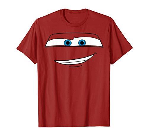 Disney Pixar Cars Lightning McQueen Big Face Camiseta