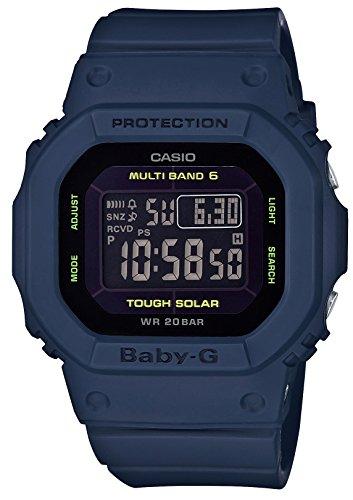 [カシオ] 腕時計 ベビージー 電波ソーラー BGD-5000-2JF ブルー