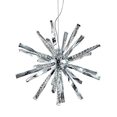JUE Araña de Cristal Creativo LED K9 Techo Colgante de la luz del Restaurante Tienda de Ropa de Aluminio Decoración Iluminación for el Dormitorio/Sala de Estar/Pasillo Lámpara Colgante A++
