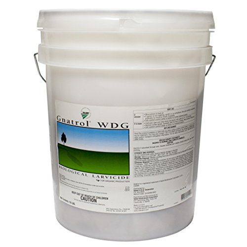 Gnatrol WDG Biological Larvicide for Fungus Gnats Larvae (OMRI Listed) - 16 pound pail