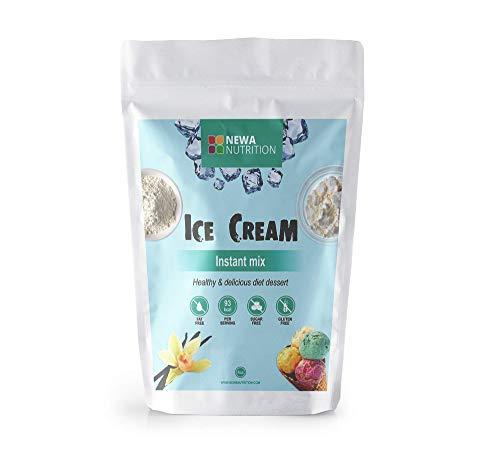 Protein Sugar Free Gluten Free Non GMO Ice Cream Mix Vanilla. Weight: 8oz/226.8 gr.