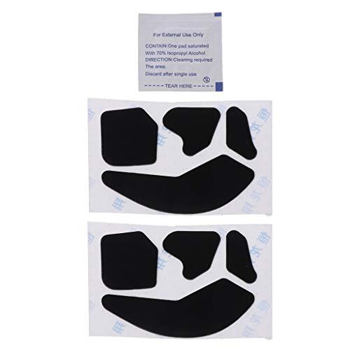 Preisvergleich Produktbild huiingwen 2 Sätze 0, 6 Mm Mausfüße Mausschlittschuhe,  Die Mit Der Drahtlosen RGB-Maus Leadr,  rutschfeste Computermausband-Mausaufkleber Für Gaming-Mäuse Kompatibel Sind