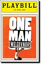 Brand New Color Playbill from One Man, Two Guvnors starring James Corden Oliver Chris Jemima Rooper