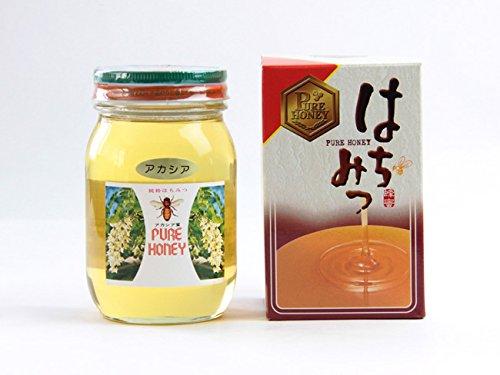 アカシア蜂蜜 600g 化粧箱入り (あかしあはちみつ、アカシアハチミツ) 北海道産アカシアはちみつ