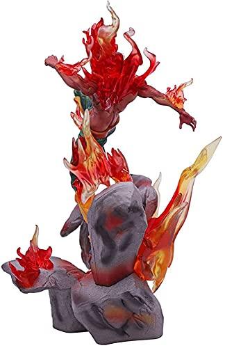 GOGOGK Naruto Might Guy (35cm/13.7in) Otto porte Dunjia Eyes Can Shine Fighting State Action Figure Personaggio dei cartoni animati Anime Figure/bambola/statua/modello PVC Materiale Giocattoli/Collezi
