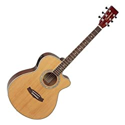 Tanglewood DBT SFCE Electro Acoustic Super Folk Pack Natural