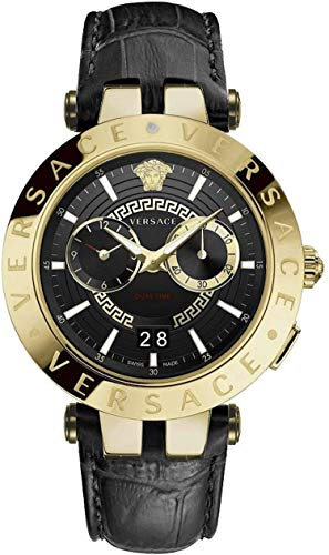 Versace VEBV00119 V-Race Mens Watch Dualtimer