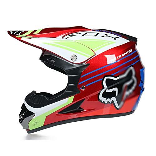TR-yisheng Motocross-Helm, professioneller Rallye-Motorradhelm, abnehmbares und...