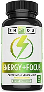 SMOOTH & FOCUSED ENERGY. Looking for long lasting energy without the harsh side effects of other caffeinated products? Our combination of caffeine (100mg) and L-theanine (200mg) works together to produce a smooth and clean energy without the crash. N...