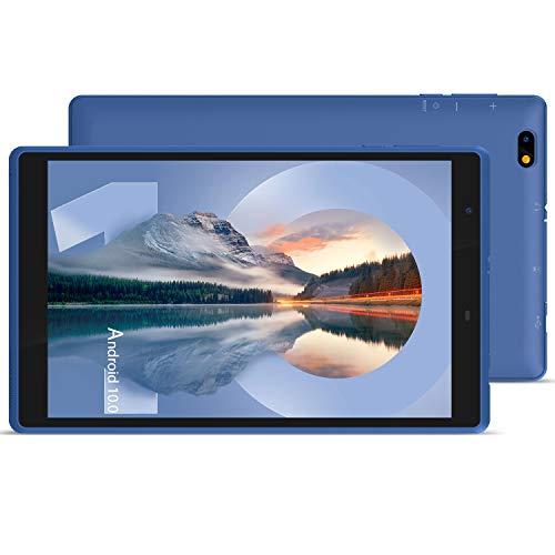 Tablet 8 pulgadas, Android 10.0 HD Display Tablets, Procesador Quad-Core, 3 GB RAM, 32 GB de almacenamiento, (sin teclado y ratón)...