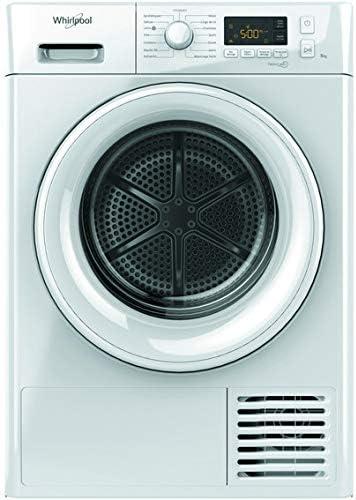 Whirlpool FTM1182FR sèche-linge Autonome Charge avant Blanc 8 kg A++ - Sèche-linge (Autonome, Charge avant, Pompe à c...
