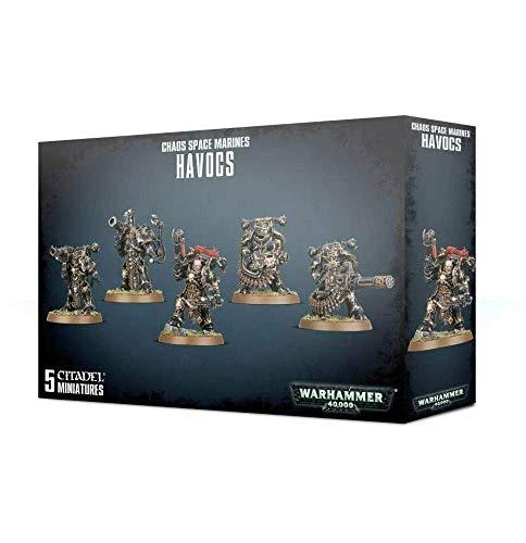 Unbekannt Games Workshop Warhammer 40k 40.000 Chaos Space Marines Havocs (43-61)