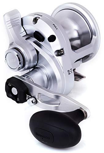 Japan-Shimano Moulinet Baitcasting Reel Speedmaster II 20lb - 980g - R.5.2:1-2.3:1 - RETR.131-58cm - BK.20Kg - SPM20II