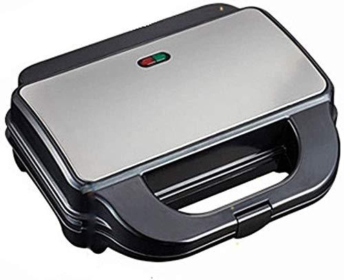 zZZ Sandwich-Maschine , 5Verschiedene Backform Sandwich-Frühstücksmaschine, vollautomatischer Multifunktions-Waffel-Muffin-Brot-Toaster (schwarz)