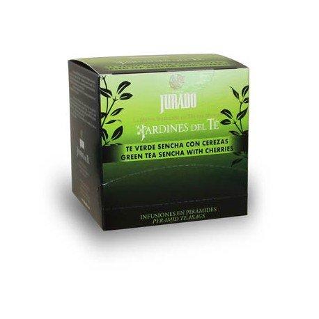 Cafe Jurado - Te verde Sencha con cerezas