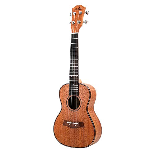 REFURBISHHOUSE Konzert Ukulele Kits 23 Zoll Mahagoni Uku 4 String Gitarre Mit Tasche Tuner Capo Gurt Sting Picks Für Anf?nger Musik Instrumente