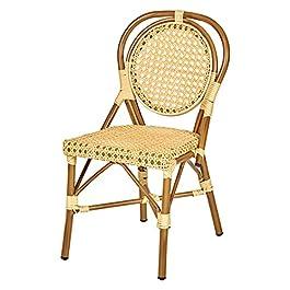 chaise tressée PIETRO exterieur