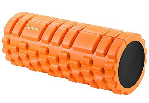 """Rodillo de foamy - Lo mejor para la terapia física & el ejercicio muscular - Grado Profesional - Ayude a su cuerpo con este suave rodillo masajeador - 13""""x5"""" - ROJO"""