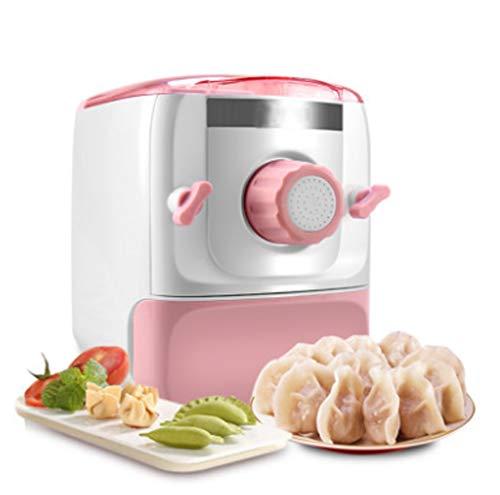 Volautomatische pastamachine Thuis kleine elektrische Bol Skin Dough persmachine Multifunctionele Noodle Maker Machine,Pink