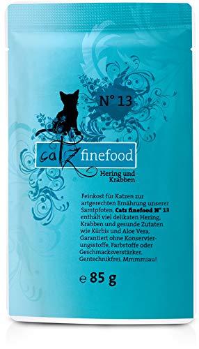 Catz finefood No.13 Hering+Krabben 200g